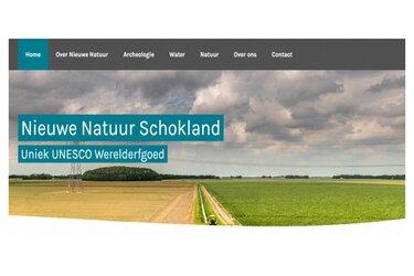 Website project Nieuwe Natuur Schokland