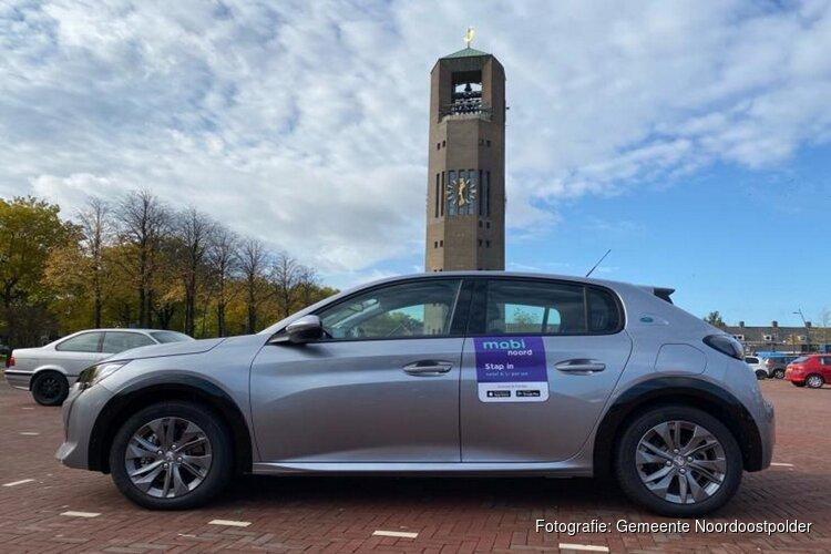 Noordoostpolder krijgt deelauto's